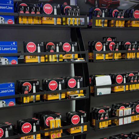 Zünd- und Glühkerzen direkt im Laden
