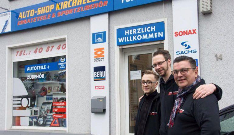 Das Team vom Auto-Shop Kirchhellen